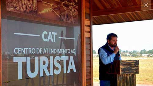 Centro Atendimento ao Turista de Vacaria RS 2 - Vacaria inaugura Centro de Atendimento ao Turista