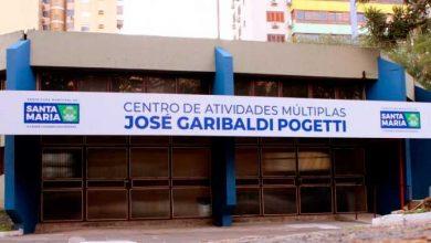 Centro Garibaldi Pogetti Santa Maria 390x220 - Santa Maria: Centro de Atividades Múltiplas Garibaldi Pogetti reabre no domingo, 25