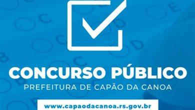 Concurso Público capão 390x220 - Capão da Canoa lança edital para concurso público