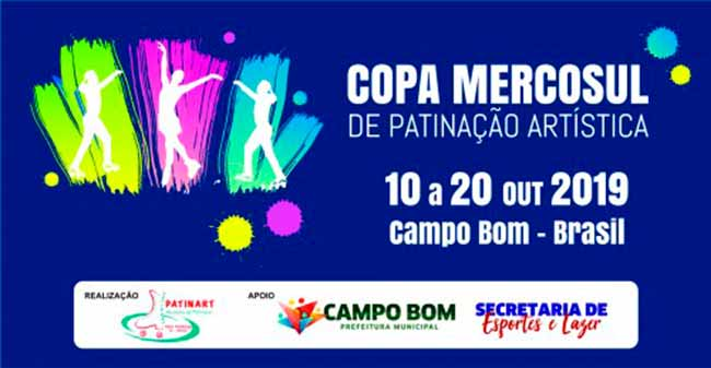 Copa Mercosul de Patinação Artística - Copa Mercosul de Patinação Artística acontece em outubro em Campo Bom