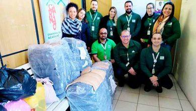 Doações Leroy Merlin 390x220 - Leroy Merlin doa cobertores para Banco do Agasalho de São Leopoldo