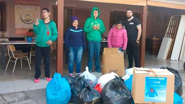 Doações Parceiros Voluntários 3 - Unidade Parceiros Voluntários São Leopoldo celebra doações