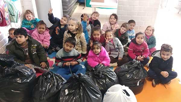 Doações Parceiros Voluntários 5 - Unidade Parceiros Voluntários São Leopoldo celebra doações