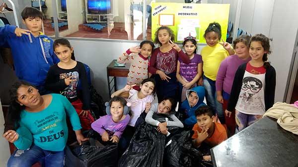 Doações Parceiros Voluntários 6 - Unidade Parceiros Voluntários São Leopoldo celebra doações
