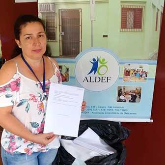 Doações Parceiros Voluntários 8 - Unidade Parceiros Voluntários São Leopoldo celebra doações