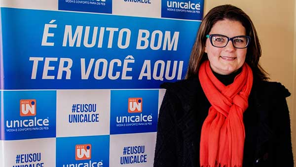 Elenice Neuvald Presidente da UNICALCE - Centrais de Negócios ampliam atuação na região metropolitana de Porto Alegre