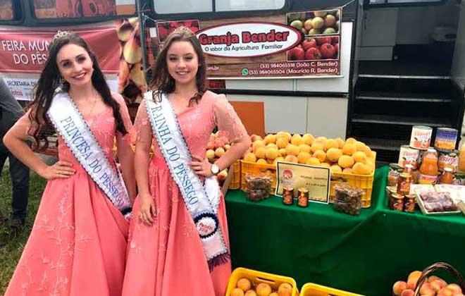 Festa do Pêssego de Pelotas - Escolha da Corte do Pêssego ocorrerá dia 8 de setembro em Pelotas