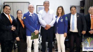 Foto Lions 390x220 - Prefeito de Sapucaia do Sul recebe governador distrital do Lions
