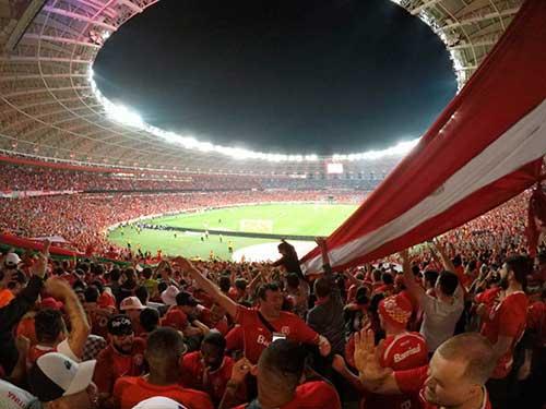 Inter Libertadores da América 2019 1 - Uma noite mágica para a torcida do Inter