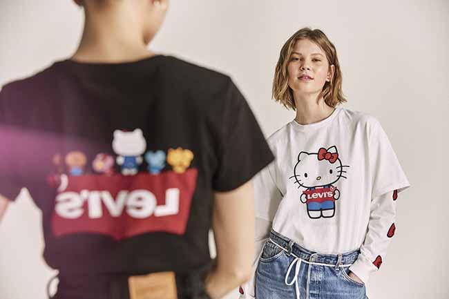 Levis x Hello Kitty 1 - Hello Kitty dá um toque fofo nos Clássicos Levi's