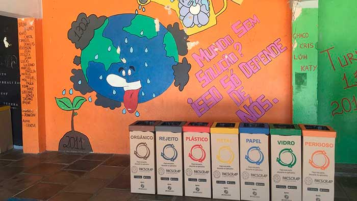 Lixo Zero Rafael Nonemacher 2 - Projeto Escola Lixo Zero prevê separação e venda de resíduos