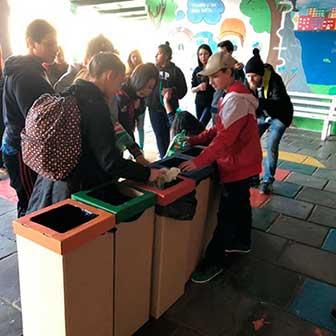 Lixo Zero Rafael Nonemacher 4 - Projeto Escola Lixo Zero prevê separação e venda de resíduos