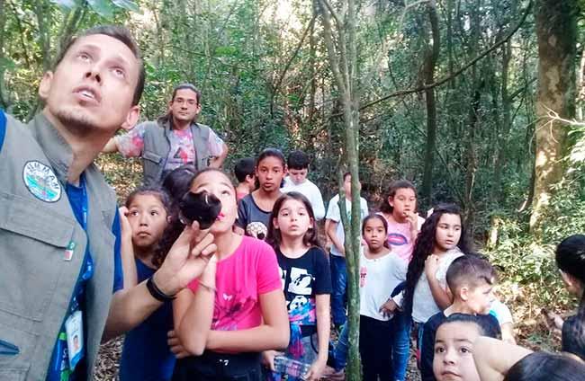OLHODAGUA - Alunos de São Leopoldo conhecem o Arroio Gauchinho