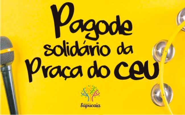 Pagode Solidário - Sábado tem Pagode Solidário em Sapucaia do Sul