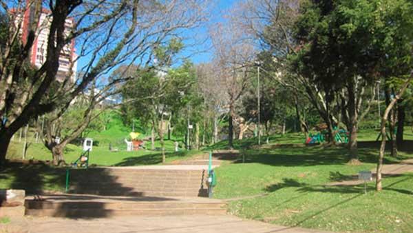 Praca Centenario Bairro Centro Bento Gonçalves - Praça Centenário de Bento Gonçalves agora tem WI-FI gratuito
