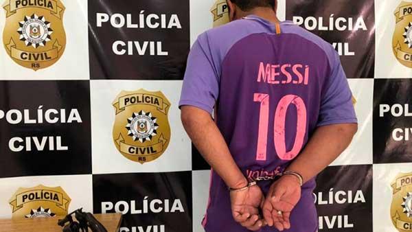 Preso em Triunfo - Autor de crime de homicídio em Canoas é preso em Triunfo