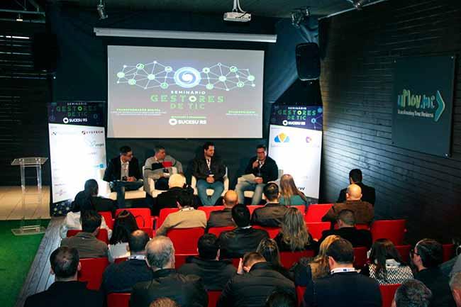 SUCESU RS - Painel Carreiras de SUCESU-RS debate TI e Transformação Digital em São Leopoldo
