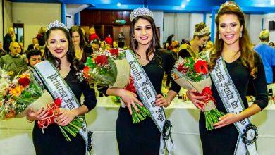 Soberanas eleitas 390x220 - Justine Gonçalves é a rainha da 47ª Festa do Figo