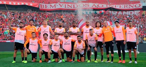 Treino do Inter para enfrentar o Flamengo 2 - Inter enfrenta o Flamengo no Gigante da Beira-Rio