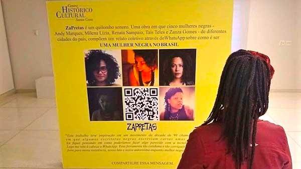 ZaPretas divulgação CHC Santa Casa 1 - Santa Casa recebe exposição ZaPretas, a mulher negra no Brasil