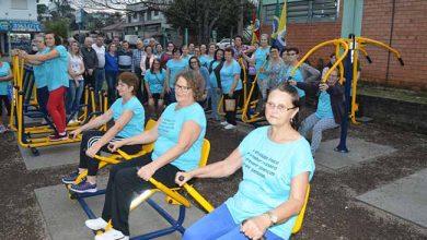 acadivoti 390x220 - Rotary doa equipamentos para nova academia ao ar livre de Ivoti