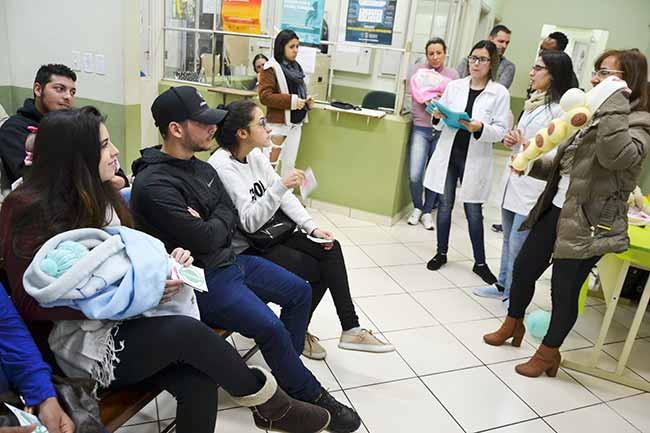 aleit sl - São Leopoldo faz ações para reforçar importância do aleitamento materno