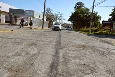 asfaltamento em santa maria rs 2 - Jorge Pozzobom assina ordem de serviço para drenagem e asfaltamento em Santa Maria