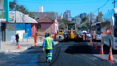 av brasil em passo fundo 390x220 - Clima bom favorece obras da Avenida Brasil em Passo Fundo