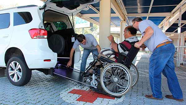 carro adaptado para cadeirantes 1 - Lajeado investe em carro adaptado para cadeirantes