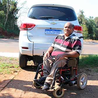 carro adaptado para cadeirantes 2 - Lajeado investe em carro adaptado para cadeirantes