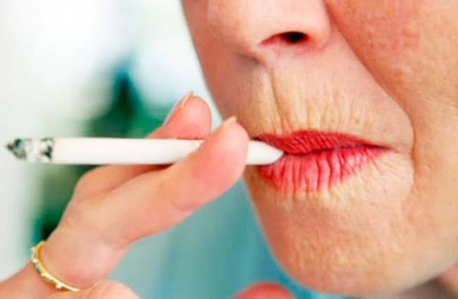 cig - Cigarro dificulta cicatrização e inflama a pele