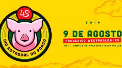 diaporco 390x220 - Frederico Westphalen sedia 45º Dia Estadual do Porco