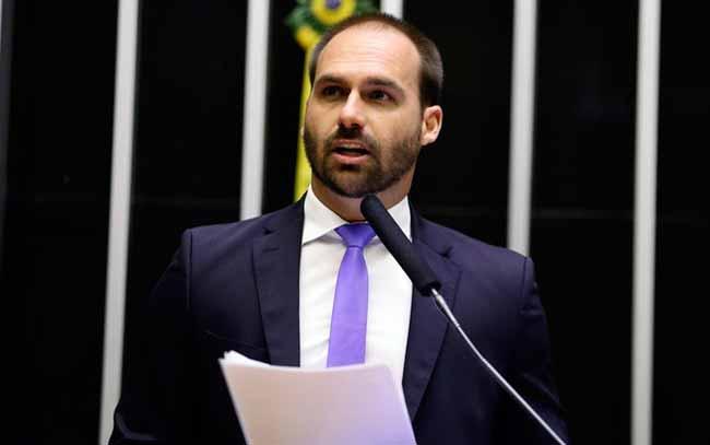eduardo bolsonaro - Itamaraty confirma aval dos EUA para indicação de Eduardo Bolsonaro
