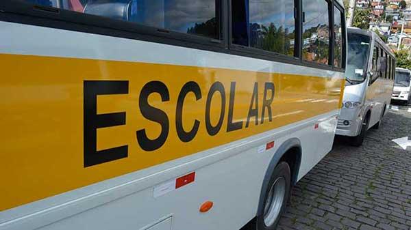 empresas de transporte escolar - Caxias do Sul: empresas de transporte escolar e de fretamento devem atualizar cadastro