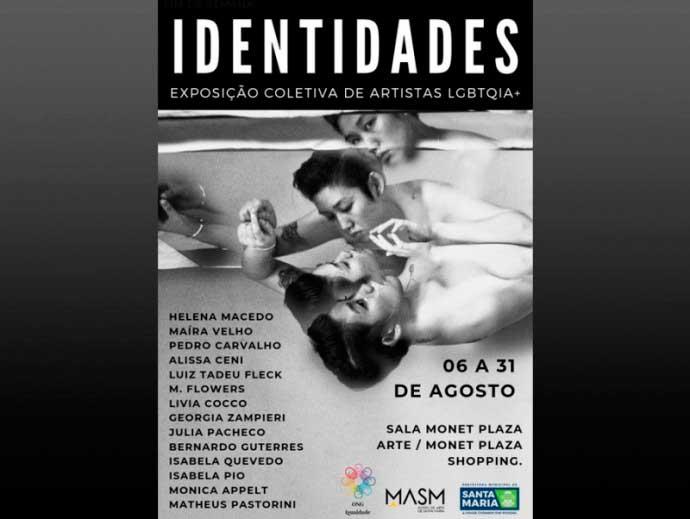 """exposição identidades santa maria rs - Exposição """"Identidades"""" é aberta no Monet Plaza Shopping em Santa Maria"""