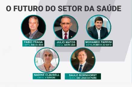 futsaude - Federasul discute o futuro do setor da saúde no Tá na Mesa