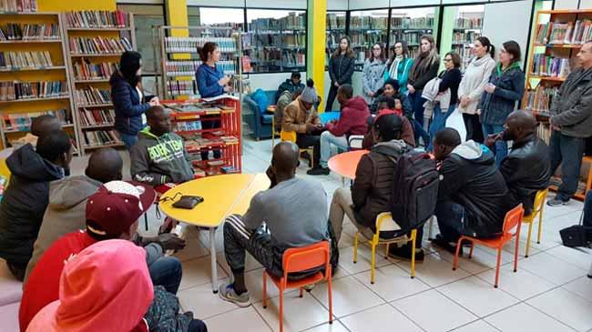 garibaldi imigrantes e refugiados - Garibaldi oferece curso de português para imigrantes e refugiados