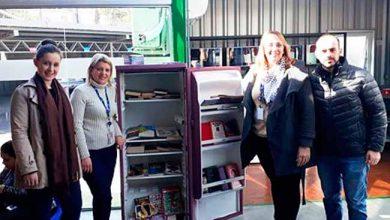 geladeira literária 390x220 - Campo Bom entrega geladeira literária na Ticket Log