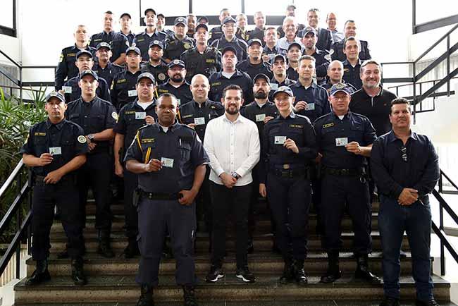guardas esteio - Guarda Municipal de Esteio recebe porte de arma