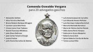 Photo of OAB-RS condecora 20 advogados gaúchos em homenagem ao Dia do Advogado