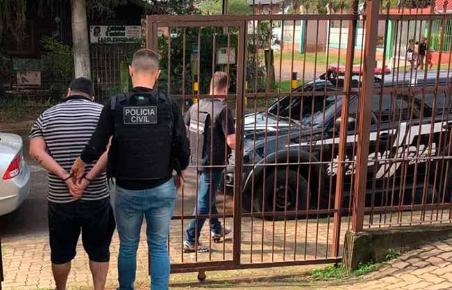 hompoa - Condenado por homicídio é preso no Agronomia em Porto Alegre