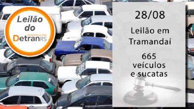 Revista News leilaodetran-390x220 Quarta-feira tem leilão de sucatas e veículos do DetranRS em Tramandaí