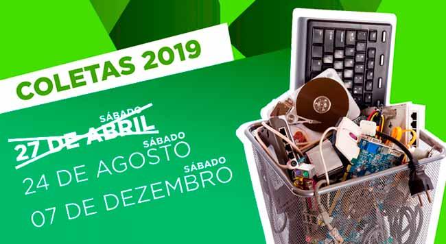 lixo eletronicofarroup - Farroupilha terá coleta de lixo eletrônico dia 24 de agosto