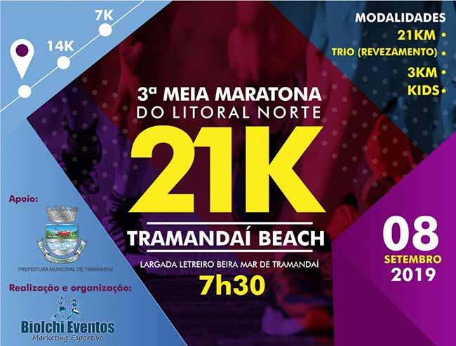 maratram - 3ª Meia Maratona do Litoral Norte acontece dia 8 em Tramandaí