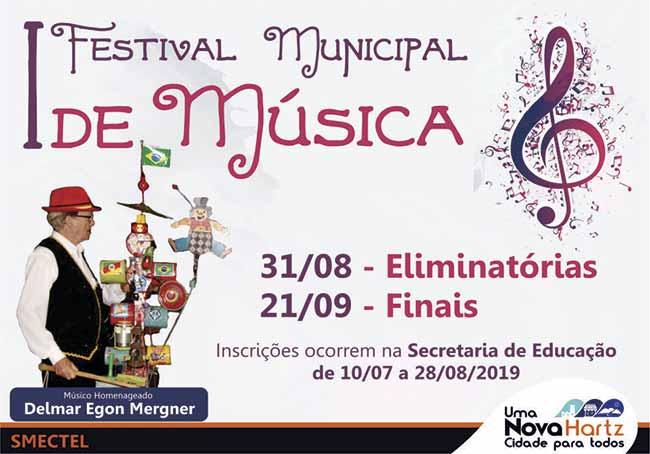 novahartz conc - Nova Hartz realiza seu primeiro festival de música