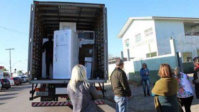 novos eletrodomésticos nas escolas de Tramandaí RS 390x220 - Prefeitura de Tramandaí equipa escolas municipais com geladeiras, TV's, fogões novos