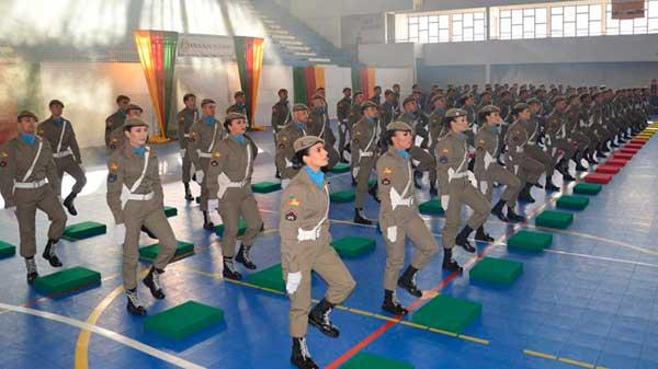 novos policiais militares 2 - Mais 81 novos policiais militares se formam em Santa Maria