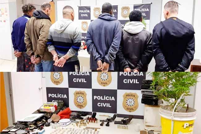 opgrav - Operação prende seis pessoas em Gravataí