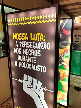 pesreguição aos negros no holocausto 2 - Perseguição aos negros durante o holocausto é tema de exposição em Caxias do Sul