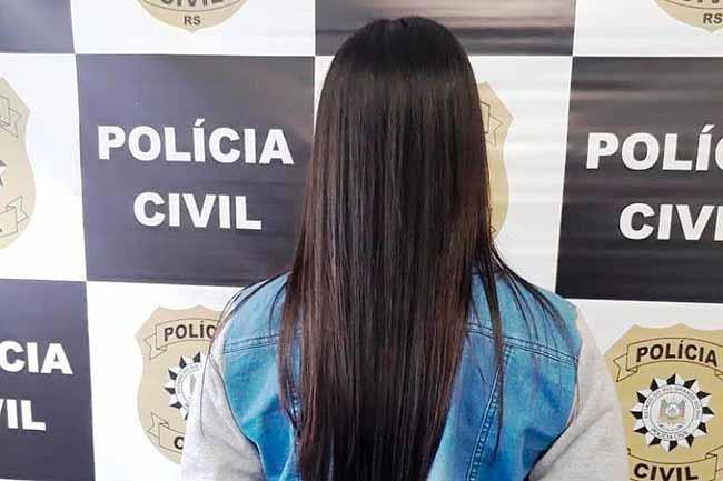 polcax - Foragida é capturada em Caxias do Sul